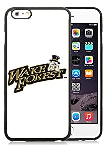 Fashion iPhone 6 Plus Case,Ncaa Wake Forest Deamon Deacons Black iPhone 6S Plus 5.5 inches Screen TPU Cover Case Luxury and Cool Design