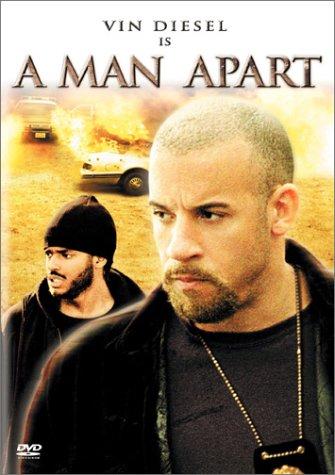 A Man Apart dvd label (2003) R1 Custom