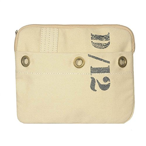 Ducti Laptop Messenger Bags - Utilitarian Electronics Accessories (Utility Tablet Sleeve - White)