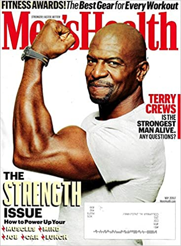Mens Health Magazine May 2019 Terry Crews Cover The Best Gear For