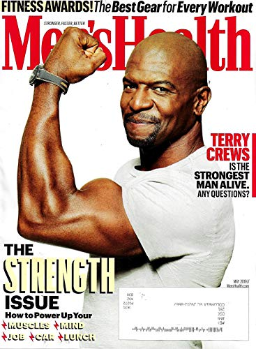 Men's Health Magazine May 2019 TERRY CREWS Cover, The Best Gear for Every Workout