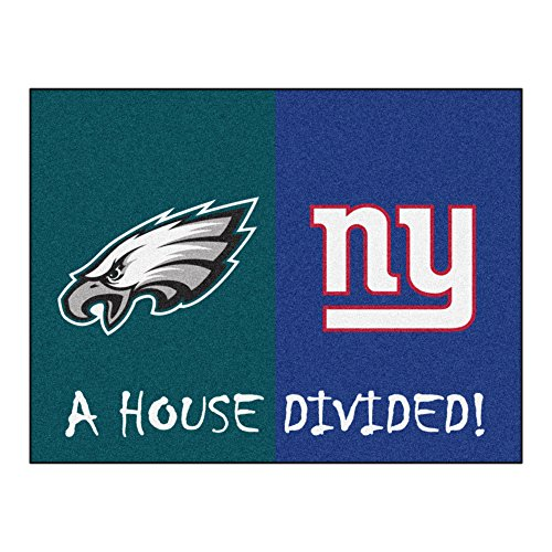 FANMATS NFL House Divided Nylon Face House Divided Rug