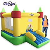 Nice2You Inflatable Bouncers Kids Outdoor Play Bounce House Party Jump House Toys