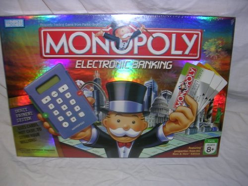 Parker Brothers Monopoly Electronic Banking by: Amazon.es: Juguetes y juegos