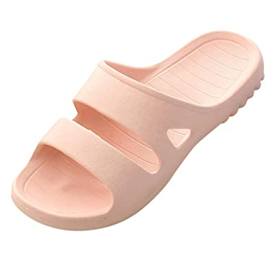 e6803ff9dfd5 Women s Home Shoes Solid Color Non-Slip Bathroom Slippers Sandals and  Slippers Home Indoor Shower