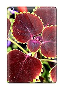 Anti-scratch And Shatterproof Plant Leaves Phone Cases For Ipad Mini/ High Quality Tpu Cases