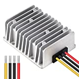 Cllena Waterproof DC/DC 12V to 24V Boost Converter 20A 480W Step Up Voltage Regulator Module Car Power Supply Voltage Transformer (Input 10V-16V)