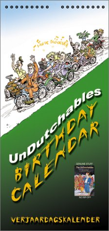 The Undutchables Birthday Calendar Verjaardagskalender (Dutch Edition)