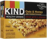 Kind Granola Bar Oats & Honey with Toasted Coconut, 1.2-ounce Bars, 5 Bars per Box, Pack of 8 Boxes (Total 40 Bars)