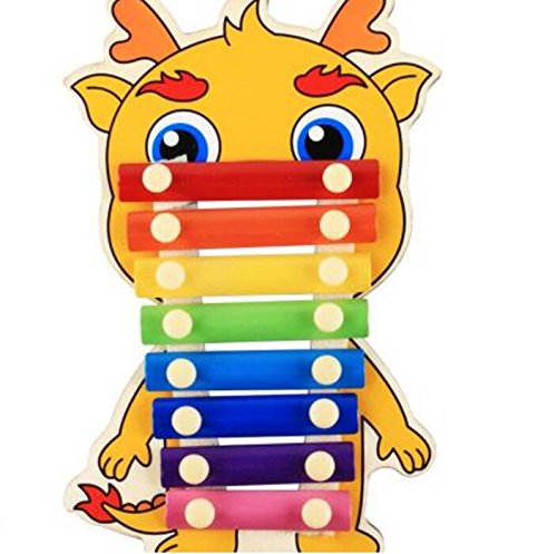 Polymer Musical Toys 8-Tone Chinese Zodiac Infant Child Octave Clappers Piano Percussion(Pig) by Polymer (Image #3)