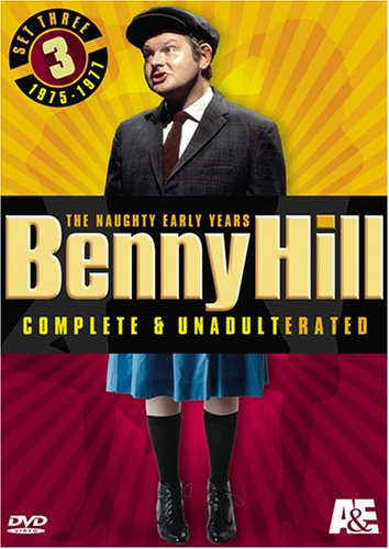 Benny Hill Complete and Unadulterated - The Naughty Early Years, Set Three (1975-1977) by A&E