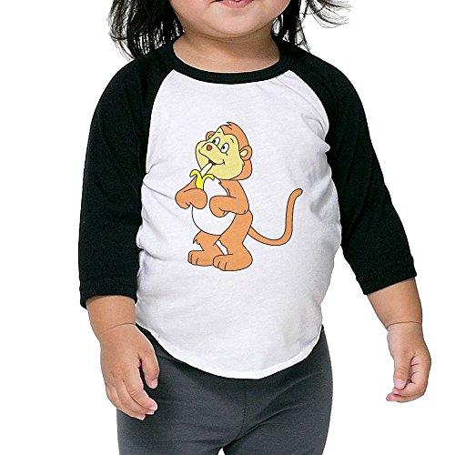 Sock Monkey Plus Size Adult Unisex Costumes (Monkey Banana Kid's Sleeve Raglan Clothes Unisex 4 Toddler Design)