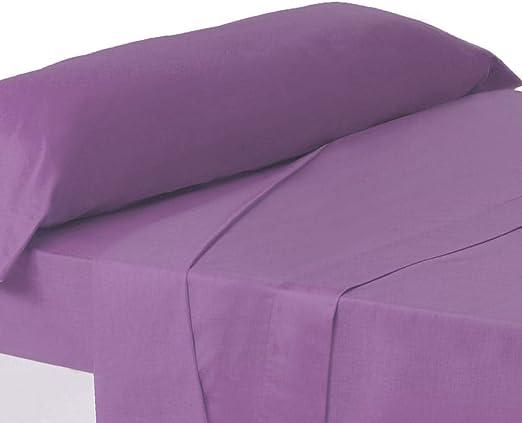 Juego de sábanas de Cama 90 clásico Lila de algodón/poliéster ...