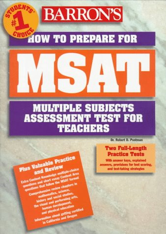 How to Prepare for Msat: Multiple Subjects Assessment for Teachers