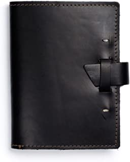 product image for Rustico Wasatch Leather Journal Black