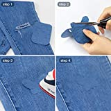 JANDJPACKAGING Iron On Patches for Jeans 20 Pcs