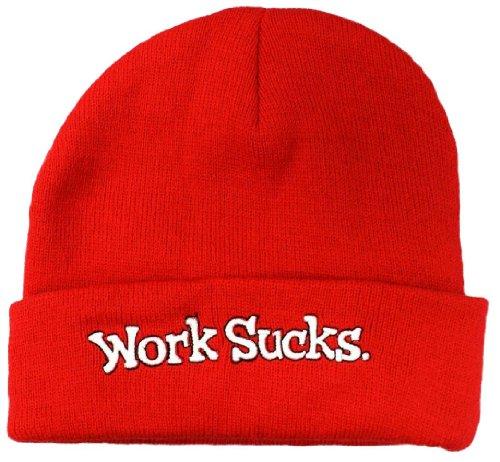 (Work Sucks Office Space Beanie Winter Hat)