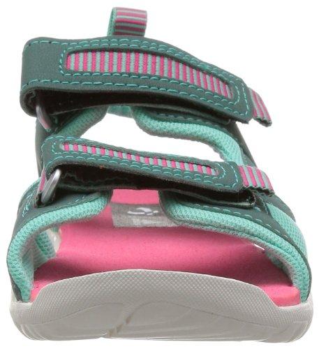 adidas Performance Sandplay OD K D67164 Mädchen Outdoor Fitnessschuhe Türkis (Vista Green S14/Bahia Pink S14/Bahia Mint S14)