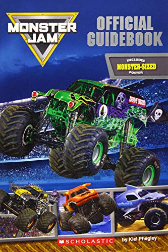 Monster Jam Official Guidebook (Monster Truck Books For Boys)