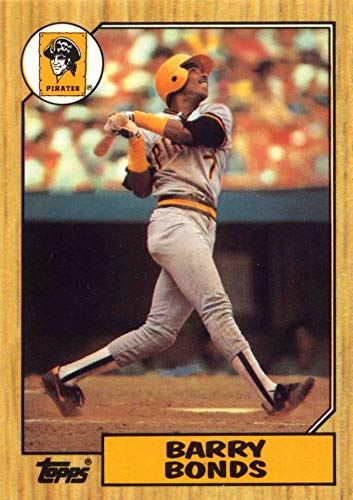 1987 Topps Barry Bonds Rookie Card ()