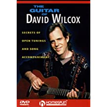 DVD-The Guitar of David Wilcox-Secrets of Open Tunings and Song Accompaniment