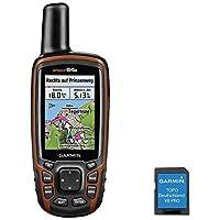 Garmin GPSMAP 64S + topo Deutschland V8Pro Outdoor GPS Noir/Rouge uni