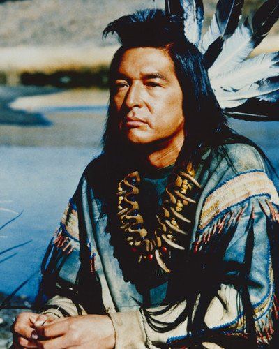f657c531efe Graham Greene Dances With Wolves Indian Costume 16x20 Poster at ...