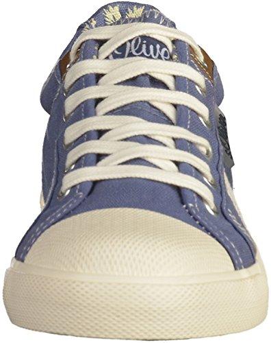 s.Oliver 5-53107-28 Jungen Sneakers Blau(Denim)