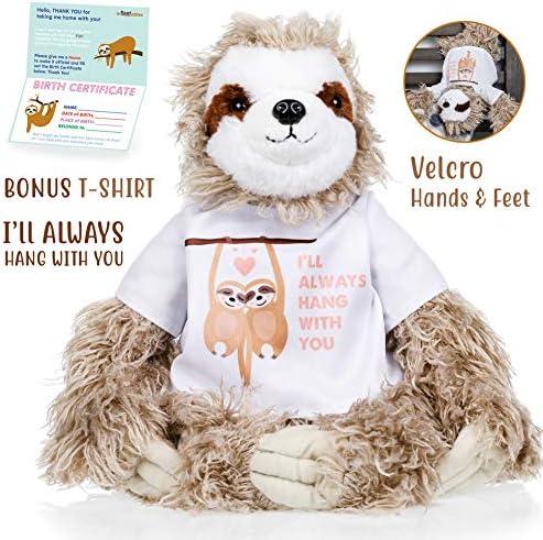 Sloth stuffed animal Valentines Christmas product image