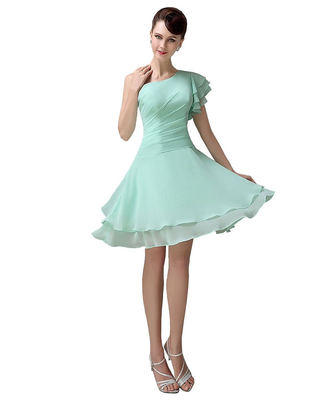 YesDress Damen Kleid Grün Grün: Amazon.de: Bekleidung