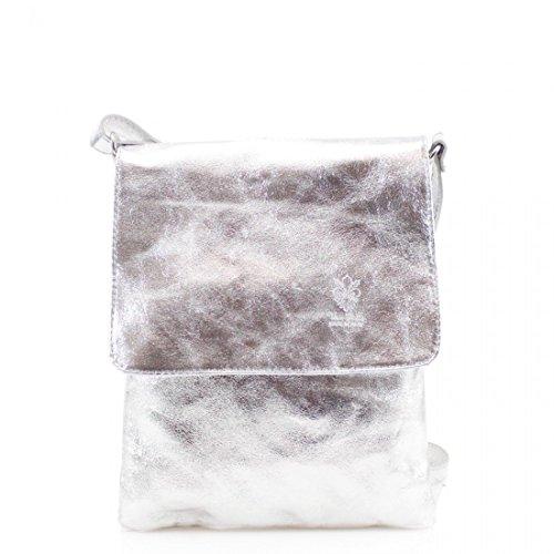 Genuine bag Pelle Messenger bag Leather Vera Large body Cross Shoulder Italian rt8qw0r
