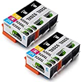 JARBO Compatible Ink Cartridge Replacement for HP 920 High Yiled, 10 Packs(4 Black 2 Cyan 2 Megenta 2 Yellow), Compatible With HP Officejet 6500 6000 7000 7500 6500A 7500A Printer