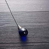 Ceiling Fan Pull Chain, 2pcs Blue 30mm Diameter