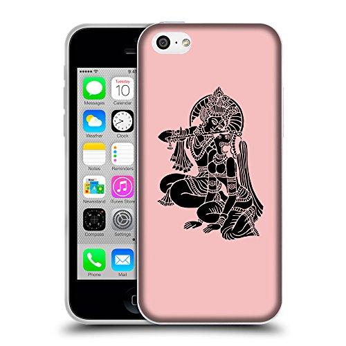 GoGoMobile Coque de Protection TPU Silicone Case pour // Q08140610 Hindou 5 Bébé rose // Apple iPhone 5C