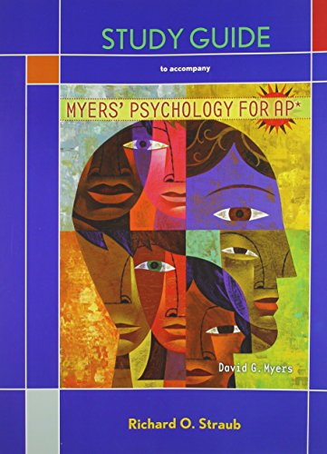 psychology 313 study guide Amazoncom: ib psychology: study guide: oxford ib diploma program (international baccalaureate) (9780198389965): jette hannibal: books.