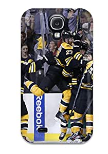 Top Quality Rugged Boston Bruins (35) Case Cover For Galaxy S4