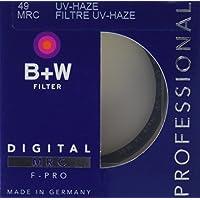 B + W 49mm Clear UV Haze con recubrimiento multirresistente (010M)