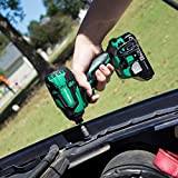 Metabo HPT 18V Cordless Impact Driver, 1,522 In-Lbs of Torque, 3,400 max BPM, 3,100 max RPM, Brushless, Tool Only - No Battery