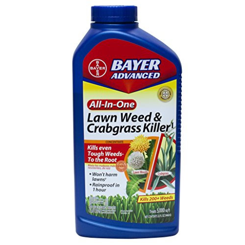 All-In-1 Weed Killer (Bayer Advanced Lawn Weed And Crabgrass Killer)