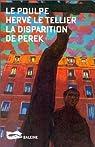 La disparition de Perek  par Le Tellier