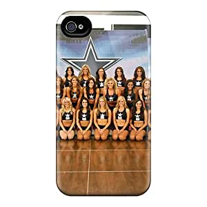 Tpu Fashionable Design Dallas Cowboys Cheerleaders 2013 Roster Rugged Case Cover For Iphone 4/4s New