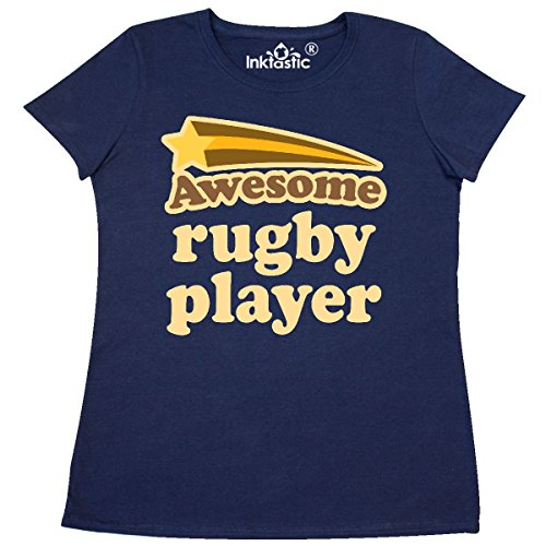 1401 Rugby (Inktastic - Rugby Player Awesome Women's T-Shirt XX-Large Navy Blue)