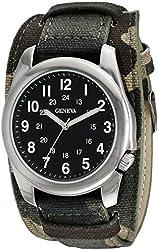 Geneva Men's FMDJM524 Analog Display Quartz Multi-Color Watch