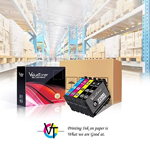 Valuetoner Remanufactured Ink Cartridge Replacement 5 Pack