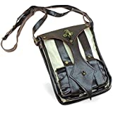 Modern Medieval Steampunk Pouch All-in-one Carrier Bag Renaissance Fair Costume
