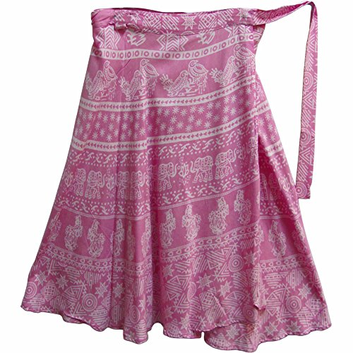 Lavender Wrap Skirt - 4