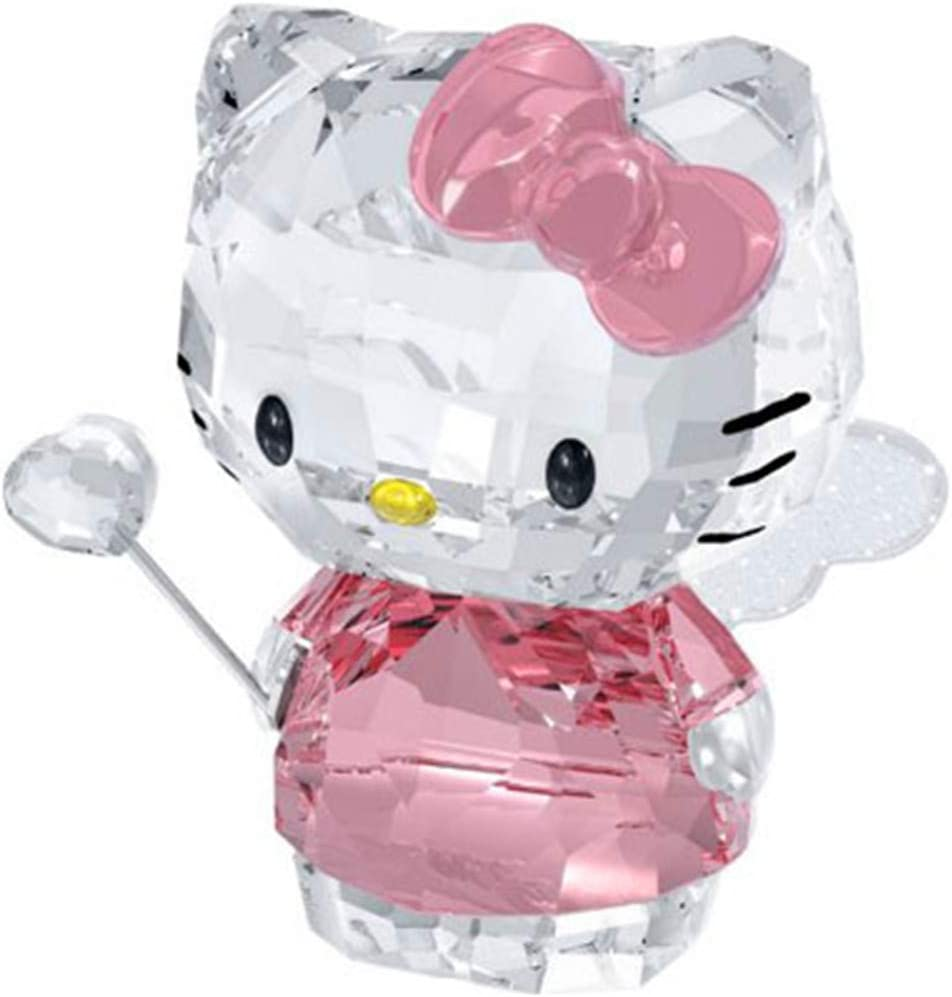 Crystal Cartoon Cat Figurines Car Ornament Cat Aniaml Paperweight Wedding Gift Multicolor Interior,Lady Favor Gift Black