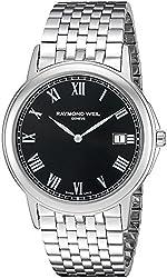 Raymond Weil Men's 'Tradition' Swiss Quartz Stainless Steel Dress Watch (Model: 5466-ST-00208)