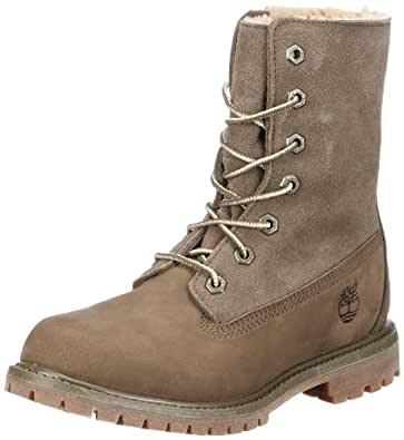 Timberland Women's Authentics Teddy  Fleece Boot,Olive/Olive,5.5 W US