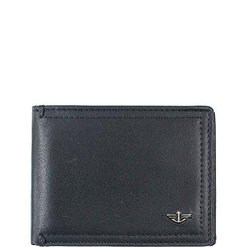 dockers-mens-pecos-extra-capacity-slim-fold-wallet-black-one-size